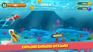 تصویر محیط Dolphy Dash: Ocean Adventure v1.0.15