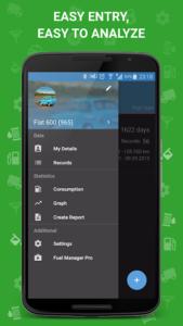 تصویر محیط Fuel Manager Pro (Consumption) v29.20