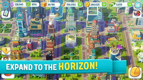 بازی شهر سازی City Mania: Town Building Game v1.6.1a