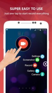 تصویر محیط AZ Screen Recorder – No Root v5.8.5