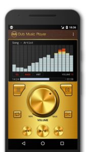 تصویر محیط Dub Music Player – Audio Player & Music Equalizer v5.0 build 237
