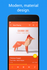 تصویر محیط Shuttle+ Music Player v2.0.12 build 5