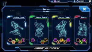 تصویر محیط Sci Fi Tower Defense. Module TD v1.83