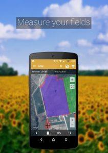 تصویر محیط GPS Fields Area Measure PRO v3.9.3