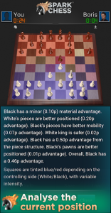 تصویر محیط SparkChess Pro v15.0.0