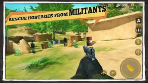 تصویر محیط Yalghaar: Border Clash Glorious Mission Army Game v3.4