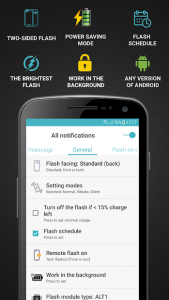 تصویر محیط FlashOnCall (call and app) v9.0.1