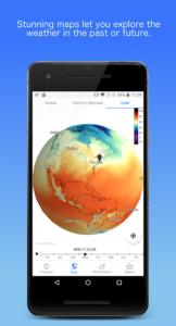 تصویر محیط Dark Sky – Hyperlocal Weather v3.0.0