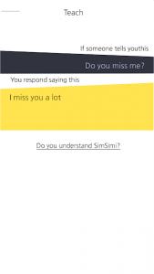 تصویر محیط SimSimi v6.8.7.7
