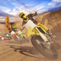 بازی موتورسواری با موتور تریل آیکون