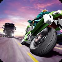 بازی موتور سواری در ترافیک آیکون