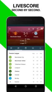 تصویر محیط Forza – Live soccer scores & video highlights v4.2.18