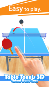 تصویر محیط Table Tennis 3D Virtual World Tour Ping Pong Pro v1.2.4
