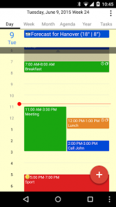 تصویر محیط CalenGoo – Calendar and Tasks v1.0.178 build 1174