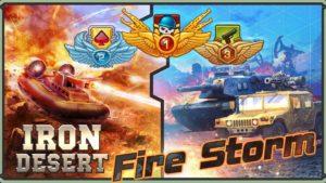تصویر محیط Iron Desert – Fire Storm v6.4