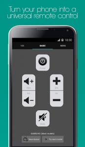 تصویر محیط Galaxy Universal Remote v4.2