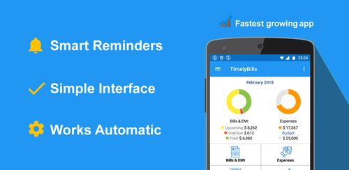 Bills Reminder, Payments & Expense Manager App v1.6.6