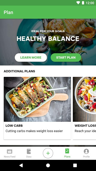 Runtastic Balance Food Tracker & Calorie Counter v1.30