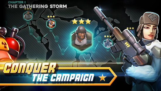 Alpha Squad 5 RPG & PvP Online Battle Arena v1.6.132