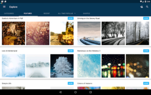 تصویر محیط Backgrounds HD (Wallpapers) v4.9.392