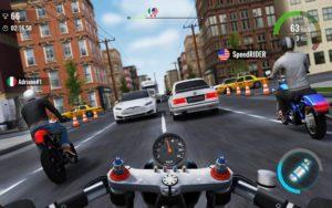 تصویر محیط Moto Traffic Race 2: Multiplayer v1.18.00
