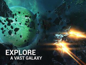 تصویر محیط Galaxy on Fire 3 v2.1.3 + data