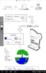 تصویر محیط INKredible – Handwriting Note v2.5.1
