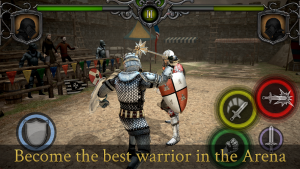 تصویر محیط Knights Fight: Medieval Arena v1.0.21 + data