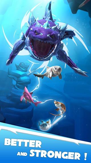 بازی قهرمانان کوسه گرسنه Hungry Shark Heroes v1.1