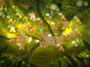 تصویر محیط Mushroom Wars 2 v3.17.3 + data