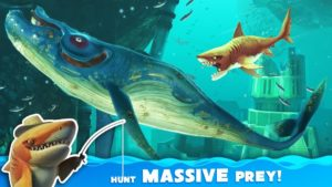 تصویر محیط Hungry Shark World v4.0.0