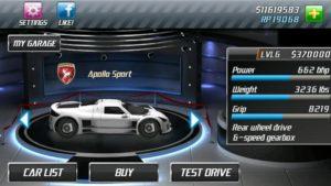 تصویر محیط Drag Racing v1.8.4