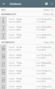 تصویر محیط Libra – Weight Manager PRO v3.3.18