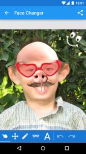 تصویر محیط Face Changer v15.0
