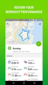 تصویر محیط Endomondo – Running & Walking v19.3.5