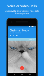 تصویر محیط Signal Private Messenger v4.42.0