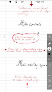 تصویر محیط INKredible – Handwriting Note v1.12.3