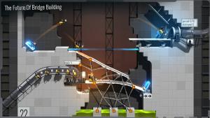 تصویر محیط Bridge Constructor Portal v5.1
