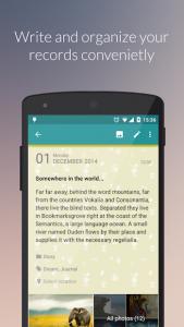 تصویر محیط Diaro – Diary, Journal, Notes, Mood Tracker v3.73.5