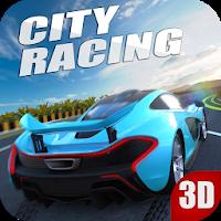 بازی مسابقه ماشین سواری در شهر به صورت سه بعدی آیکون