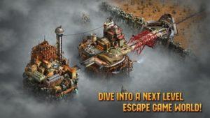 تصویر محیط Escape Machine City v1.63