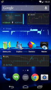 تصویر محیط 3C Battery Monitor Widget Pro v3.24
