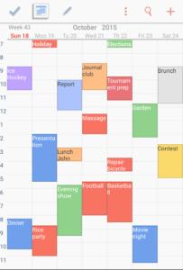 تصویر محیط To-Do Calendar Planner v9.5.52.7.7