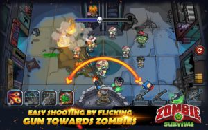تصویر محیط Zombie Survival: Game of Dead v3.2.0