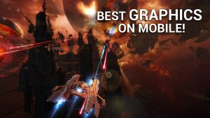 تصویر محیط Galaxy on Fire 3 v2.1.3 + data