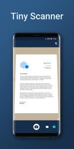 تصویر محیط Tiny Scanner – PDF Scanner App v5.0.7