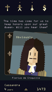 تصویر محیط Reigns: Her Majesty v1.0 build 29
