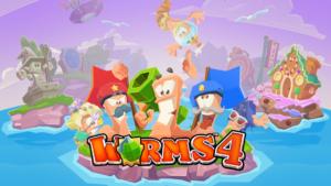 تصویر محیط Worms 4 v1.0.432182 build 44 + data