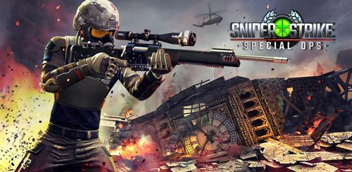 Sniper Strike : Special Ops v3.701 + data