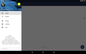 تصویر محیط ownCloud v2.12.0